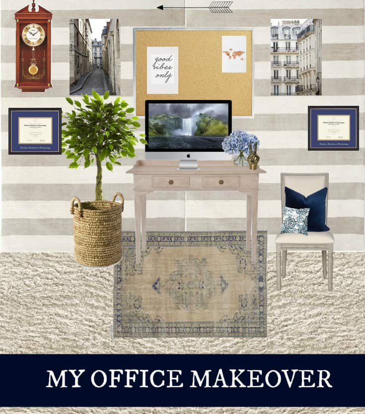 MY OFFICE MAKEOVER- THE PLAN
